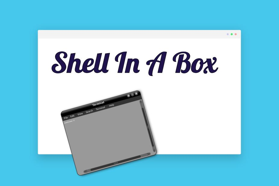 Shell in A Box – Terminal en interfaz web