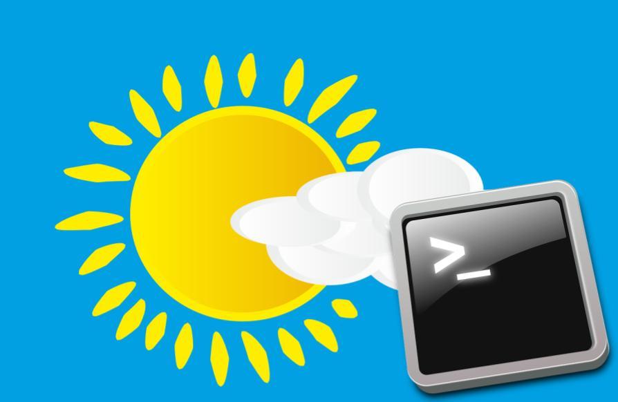 Consultar el tiempo desde el terminal Linux