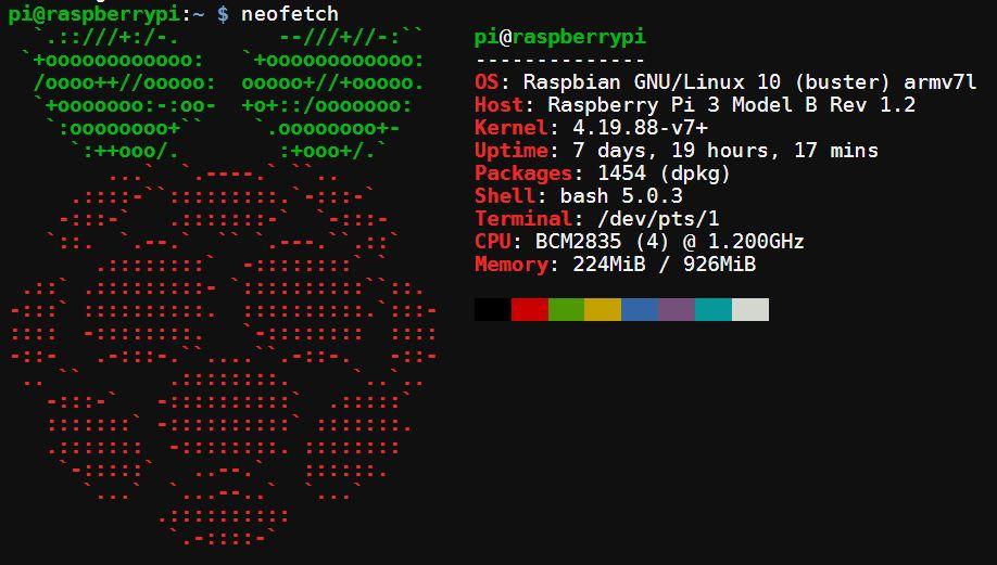 Neofetch – Información del sistema en el terminal