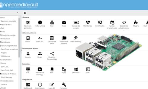 Instalar OpenMediaVault en Raspberry (NAS casero)